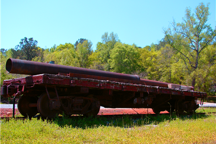 Calera and Shelby Railroad Monument